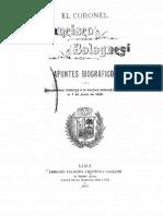 Francisco Bolognesi (Apuntes Biográficos)
