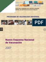 Presentacion Nuevo Esquema Vacunacion