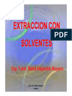 Extraccion Con Solventes