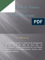 Historia Musica en Grecia Antigua