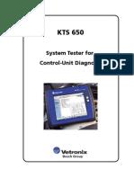 KTS 650 System Tester