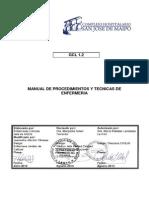 Manual de Procedimientos y Técnicas de Enfermeria 2013