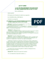 LEYN28892 LeyquemodificalaleydeprocedimientodeejecucioncoactivaN26979modificadaporlaley28165.doc