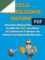 Ciclo Anabolizante Natural