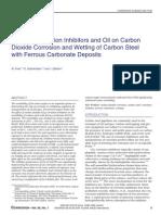 Effect of Corrosion Inhibitors