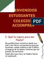Taller de Poesia Para Colegios