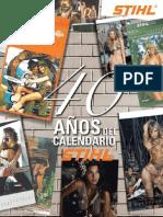 40 años del Calendario STIHL