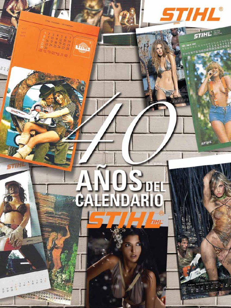 Calendario Stihl.40 Anos Del Calendario Stihl