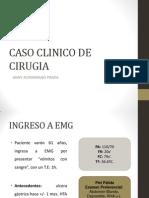 Caso Clinico de Emg