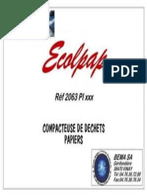 Dossier Technique Ecolpap | Pergunta | Integridade