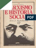 Marxismo E Historia Social