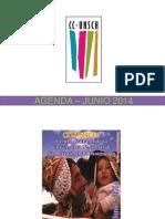 - Agenda – Junio 2014