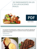 Reacciones de Pardeamiento en Los Alimentos y Sus Aplicaciones Agroindustriales