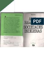 Sociedades Indigenas - Alcida Rita Ramos