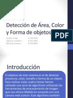 PDI - Presentación -Detección de Forma, Color y Área De