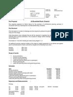 kca fee proposal