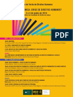 Programa 3 e 4 de Junho