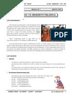 II BIM - 5to. Año - GEO - Guía 7 - Los Censos y El Crecimien