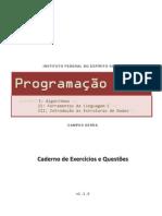 [Caderno de Exercicios e Questoes] Programacao Em C (v1.1.0)