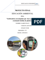Proyecto Final Educacion Ambiental
