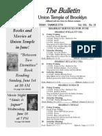 UT Bulletin June 2014