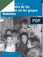 TEMA 4 LA DINÁMICA DE LAS RELACIONES EN LOS GRUPOS HUMANOS