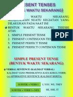 Present Tenses