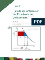Anexo 4 Cálculo de La Variación Del Excedente Del Consumidor