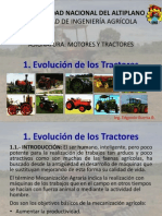1. Evolución de Los Tractores