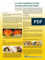 Cebu Pac Mindanao Food Tips