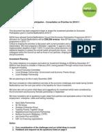 Economic Participation Consultation Form