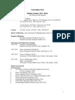 Curriculum Vitae Shobha Tandon, M.D., Ph.D.