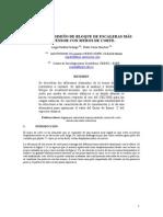 Analisis y Diseño Escalera Con Placas