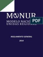 Reglamento General MONUR