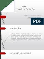 ERP - Conceito e Evolução