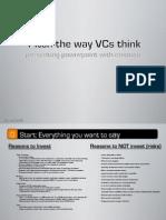 Vinod Khosla's Pitch the Way VCs Think