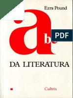Ezra Pound - ABC Da Literatura (Cultrix 1990)