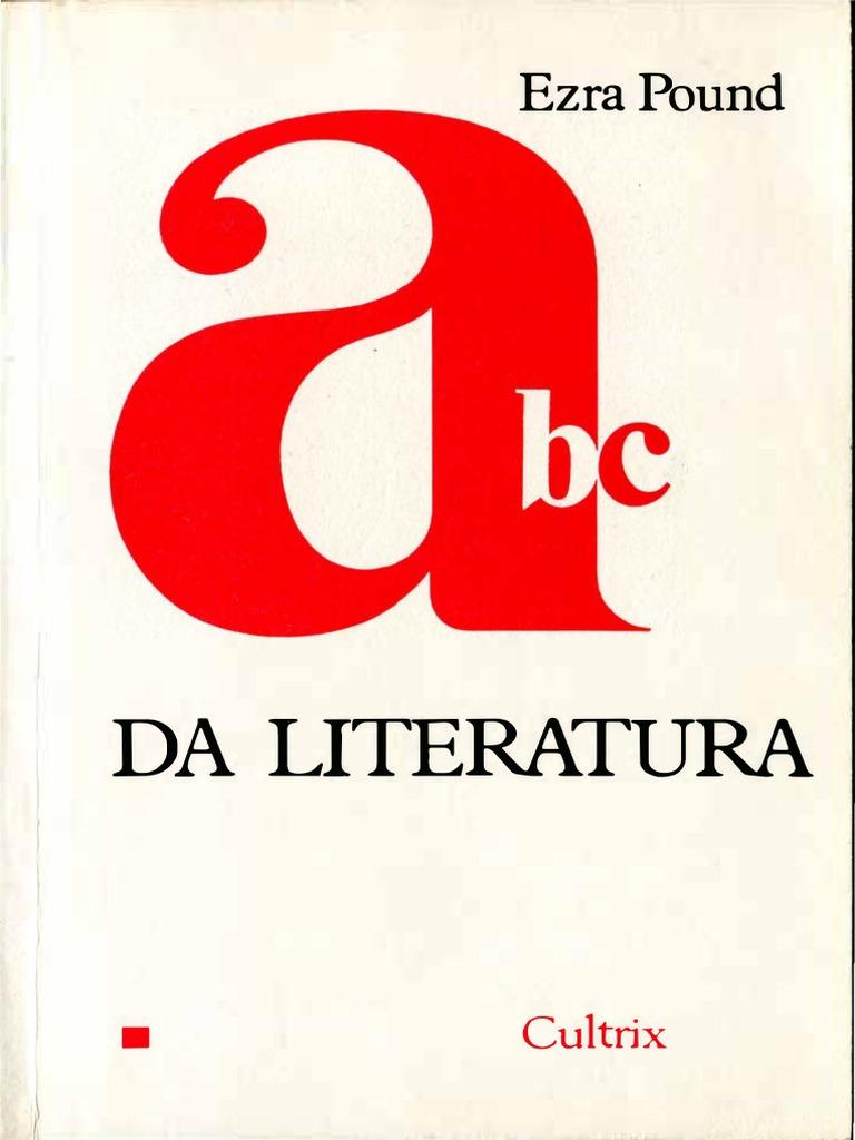 Ezra pound abc da literatura cultrix 1990 fandeluxe Image collections