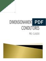 Dimensionamento de Condutores Eletricos