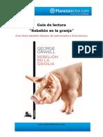 Guía de Lectura La Granja de Los Animales
