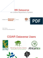 IRRI Dataverse