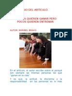 COMENTARIO DEL ARTÍCULO