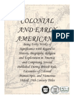 Colonial Americana