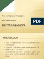 Biotec Basica - 2 - Conocimiento e Innovacion 2013