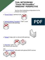 Virtual Networks in VirtualBox--Windows