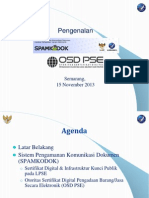 OSD Spamkodok