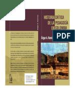 RAMIREZ, Edgar. Historia Critica de La Pedagogia en Colombia