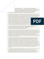 Conservacion de Documentos en Soportes Electronicos