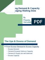 Balancing Demand & Capacity Managing Waiting Lines
