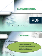 c) Farmacodinamia (2) Receptor